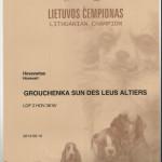 Grouchenka Sun des Leus Altiers Ch.Lit.
