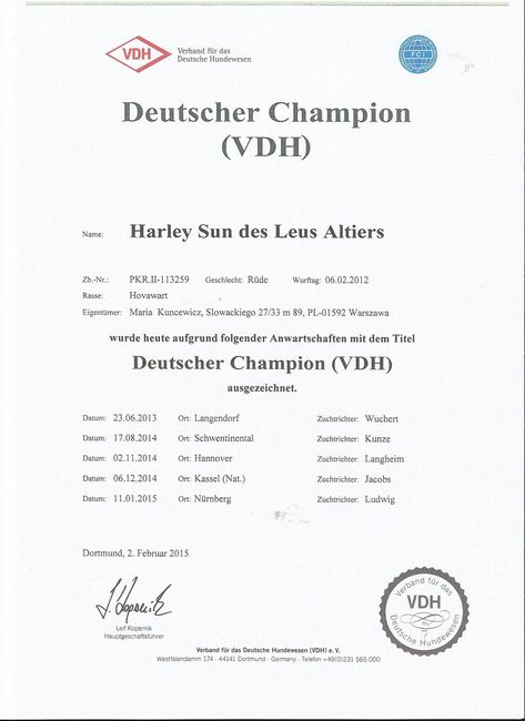 Harley Sun des Leus Altiers Ch All VDH-tn